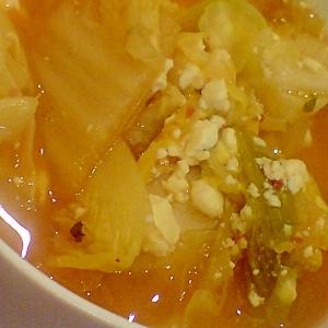 野菜たっぷり食べるスープ