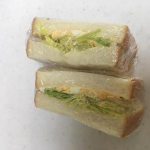 食パン6枚切りで☆シンプル♪シンプル♪卵サンド☆