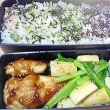 お弁当のおかずに小松菜とエリンギの炒めもの