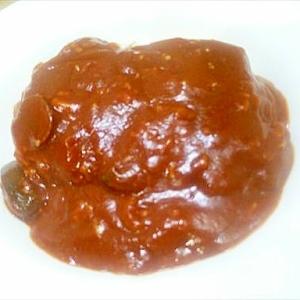 豚ひき肉と茄子のトマトカレー/ピリ辛