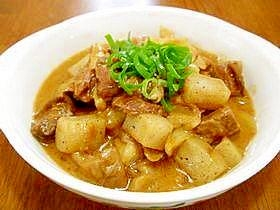 牛すじ肉の味噌煮込み(どてやき)