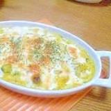 残ったカボチャの煮物でカボチャグラタン