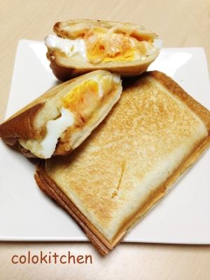 ホットサンド〜目玉焼き・チーズ〜