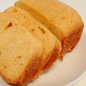 ホームベーカリーにおまかせ★ココナッツオイルケーキ
