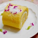 卵1個分の配合で作る✩ミニ・ロールケーキ