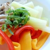 ダイエットにも❤蒸し野菜サラダ♪(ポン酢がけ)