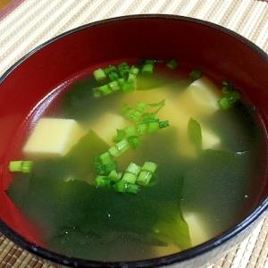 早い!簡単!卵豆腐とわかめの中華風スープ♪