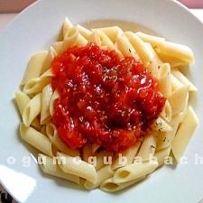 レンジで作る☆ペンネトマトソース
