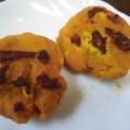 かぼちゃとクリームチーズのモチモチおやき