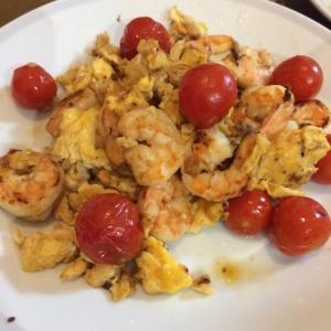 ☆エビとトマトと卵の中華炒め☆