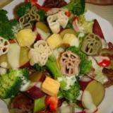 クリスマスにぴったりなカラフル温野菜サラダ