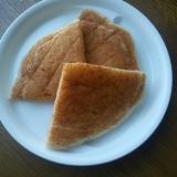 杏ジャムの米粉パンケーキ
