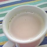 ホッと☆ほんのりナッツな青汁きなこカフェオレ♪
