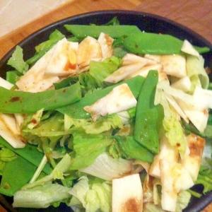 長芋と三つ葉のサラダ