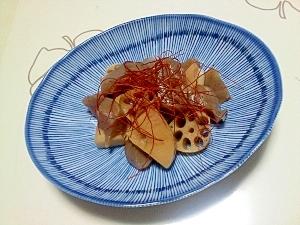 食物繊維たっぷりな中華煮++
