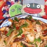 ピリ辛!韓国風キムチ焼き素麺
