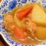 圧力鍋で☆大根と鶏肉の煮物