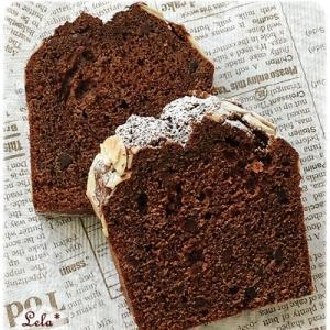 ミルクココア パウンドケーキ