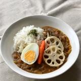 根菜ときのこの秋カレー