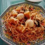 [鍋1つ]スープも作れる中華あんかけかた焼きそば