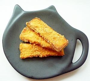 高野豆腐できなこ味のかりんとう風