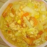 白菜・人参・たまごのコンポタ炒め煮