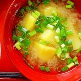さつま芋の味噌汁