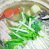 生ますの塩麹鍋