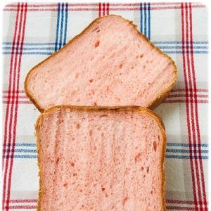 いちご練乳食パン@ホームベーカリー