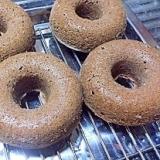 ミロとおからの焼きドーナツ