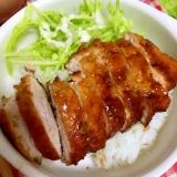 ソースカツ丼☆