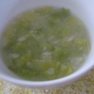セロリとポテトのスープ