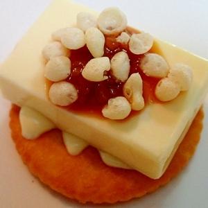 ❤醤油麹で ベビーチーズの和風オンザリッツ❤