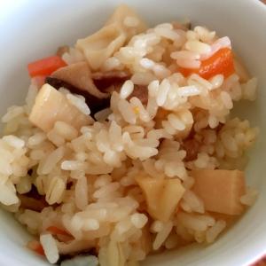 中華風炊き込みおこわ♪炊飯器♪覚書♪
