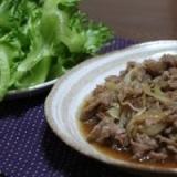 牛肉と玉ねぎの美味しい炒め物