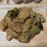大豆ミートと茄子の甘酢みぞれ煮
