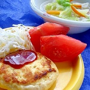 ヘルシー♪ツナ豆腐ハンバーグ