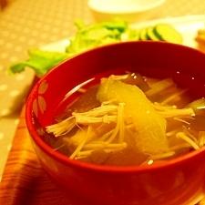 捨てないエコ☆すいかの皮で中華スープ