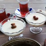 トルコのお菓子★ケシキュル~アーモンドミルクプリン