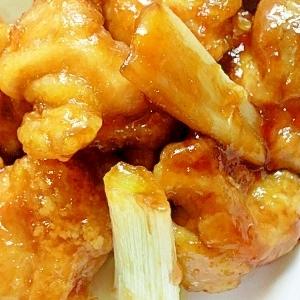 ☆鶏肉のサクサク甘酢☆