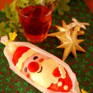 サンタさんのクリスマス☆オープンスティックおにぎり