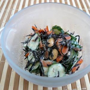 大豆とひじきのサラダ
