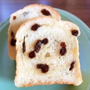 パウンド型でワンローフレーズン食パン