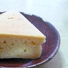 炊飯器で♪簡単おから豆腐ケーキ