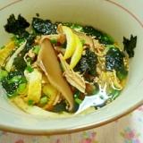 奄美の料理 我が家の鶏飯(けいはん)