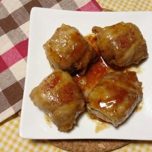 柔らか高野豆腐の肉巻き