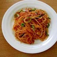 ハムで!ナポリタン スパゲティー