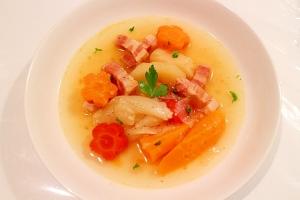 胃にも歯にも優しい柔らかポトフ風スープ