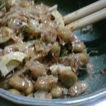 ニンニク納豆
