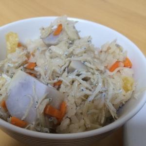 里芋の炊き込み御飯